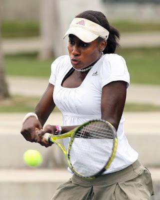 Black Tennis Pro's Asia Muhammed 2009 Home Depot Women's USTA Challenger