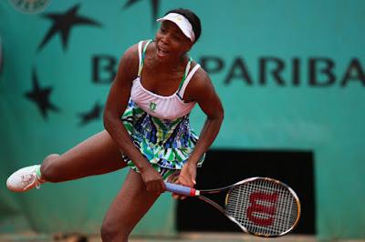 Black Tennis Pro's Venus Williams 2009 French Open