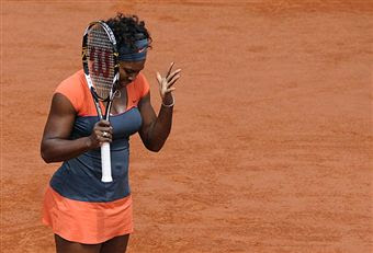 Black Tennis Pro's Serena Williams 2009 French