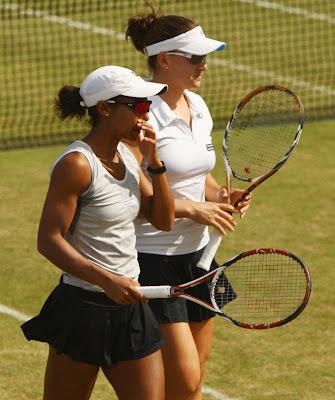 Black Tennis Pro's Raquel Kops-Jones AEGON Classic
