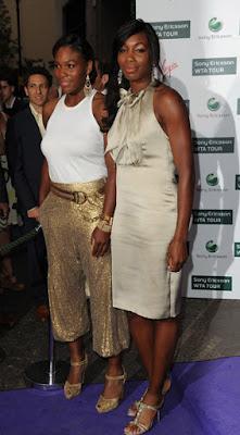 Black Tennis Pro's Venus and Serena Williams Attend 2009 WTA Tour Pre-Wimbledon Party