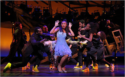 Black Tennis Pro's Ashanti In The Wiz
