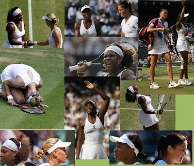 Black Tennis Pro's Venus, Serena, Elena, Dinara Wimbledon Semifinals