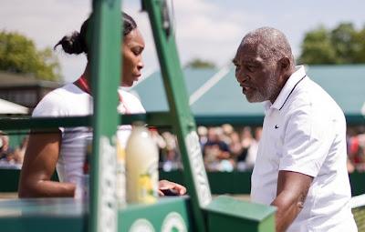 Black Tennis Pro's Venus Williams 2009 Wimbledon Practice Day 2
