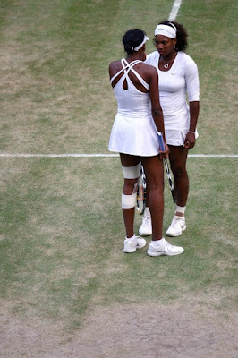 Black Tennis Pro's Venus and Serena Williams 2009 Wimbledon Doubles Champions