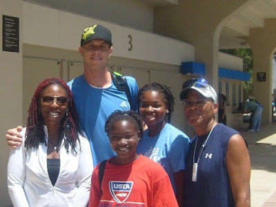 Black Tennis Pro's Jasmyne Cannick At The L.A. Open