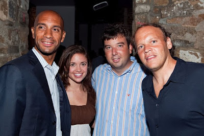 Black Tennis Pro's Washington D.C. Mayor Adrian Fenty Legg Mason Rums of Puerto Rico Players Party