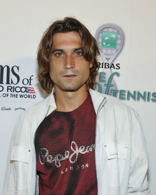 Black Tennis Pro's BNP Paribas Taste Of Tennis David Ferrer