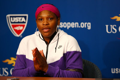 Black Tennis Pro's Serena Williams vs. Kim Clijsters 2009 U.S. Open Semifinal Match