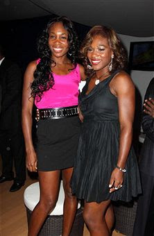 Black Tennis Pro's Venus and Serena Williams Ocean Drive Club