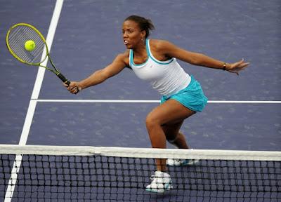 Black Tennis Pro's Mashona Washington 2009 Goldwater Women's Tennis Classic