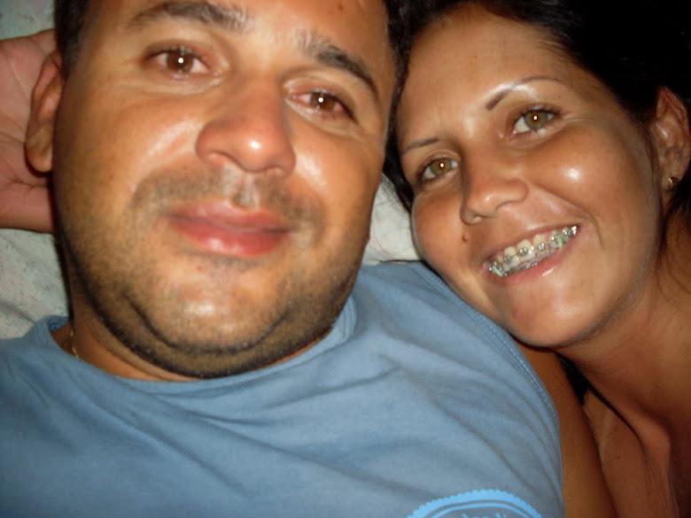 Papai e mamãe muito felizes!