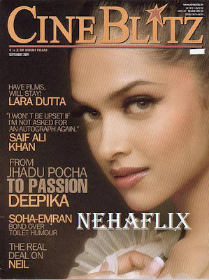 Deepika Sizzles on Cineblitz Magazine Sep 2009