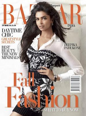 Deepika Padukone Graces Harper's Bazaar