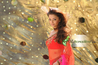 Aishwarya Rai in saree from Robot movie