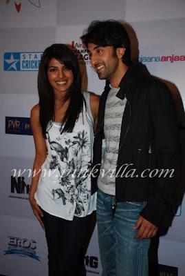 Priyanka and Ranbir anjana anjani