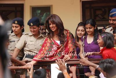Priyanka Chopra at RK ganesha visarjan 2