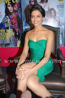 Deepika Padukone Launch Marie Claire Oct 2010 issue5