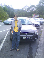 my friend n his car