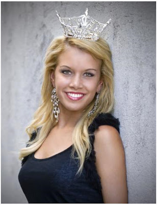 from Nebraska became the youngest winner of the Miss America crown in 90
