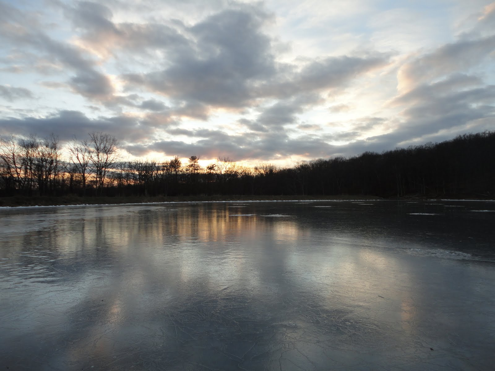 The slippery trout a fly fishing blog ice fishing new for Nj fly fishing