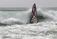 a photo of the action from the beach while filming.  photographer:  Lane Dupont