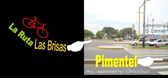 LA ruta a la Urb. LAS BRISAS CLICLAYO - PERU