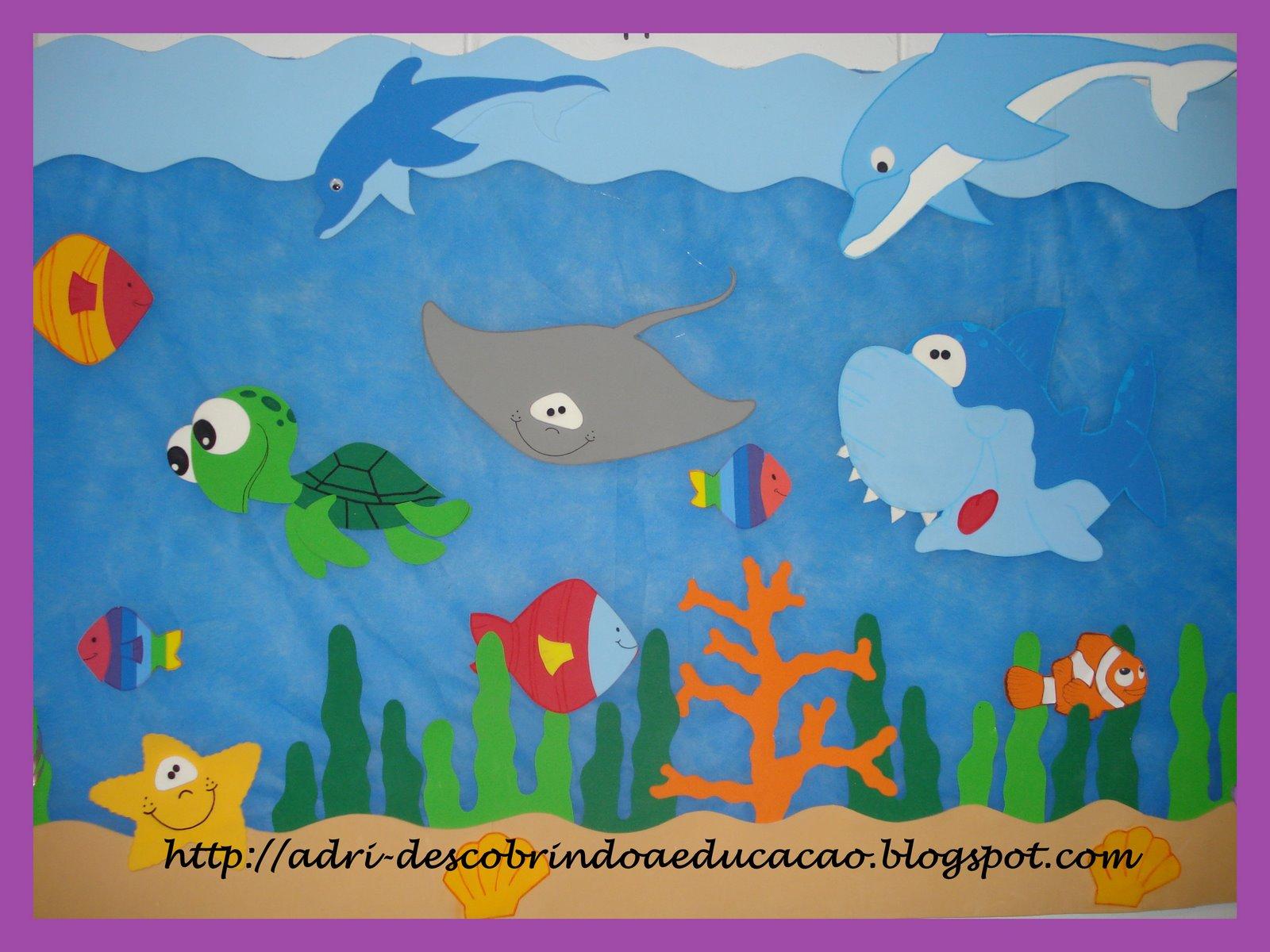 Decoração De Sala De Aula Educação Infantil Em Eva