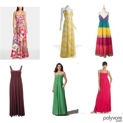 Long Summer Dresses on The First Blog  Saya Suka Long Dress