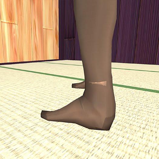 パンツ・靴下のパーツ構成による数値調整3