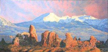 La Sal Mountains/Fire In The Sky