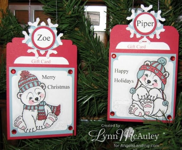 Stampin' Fabulousity: Ornament Gift Card Holder Tutorial