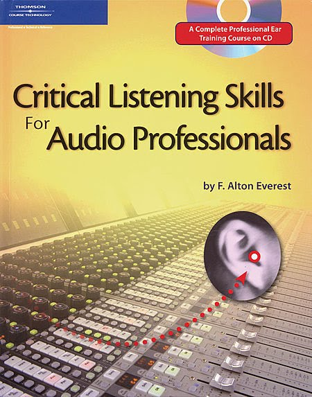 The CD for the Critical Listening Skills for Audio Professionals