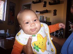 Grandson Yaniv at 4 months
