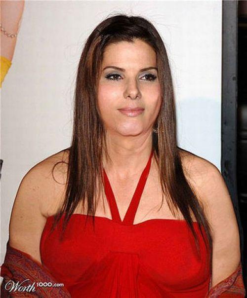 Sandra bullock fat