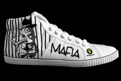 custom printed shoes