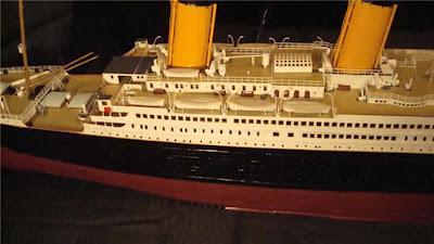 titanic paper model
