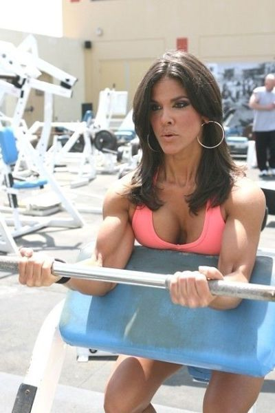 Scary, sometimes cute, and occasionally sexy - Female bodybuilders -70 Pics