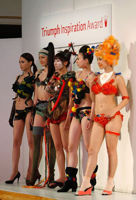 Triumph Inspiration Award Japan lingerie design competition  Seen On www.coolpicturegallery.net