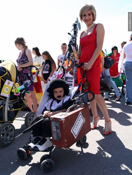 55 unusual baby carriages strollers Unusual-baby-carriages-54