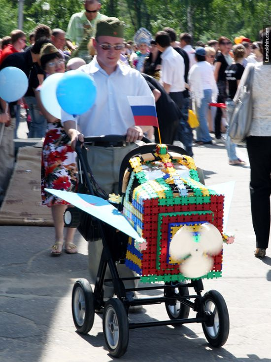 55 unusual baby carriages strollers Unusual-baby-carriages-23