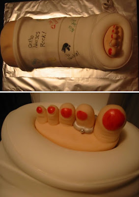 medical birthday cake