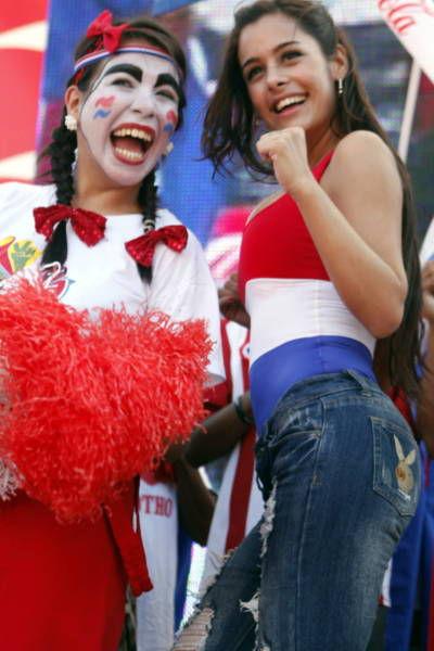 Larissa Riquelme, The Hottest Football Fan in The World