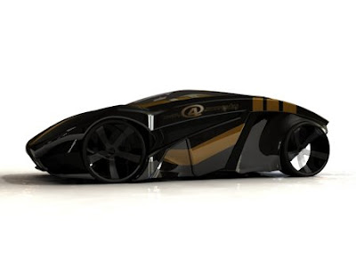 7. BRB Evolution Folding Concept Car