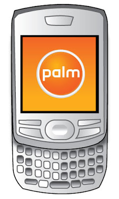 Rough mockup by CG of Palm's future phone