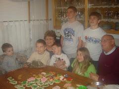 Christmas Cookies w\ Grandma Ethel & Grandpa Larry!