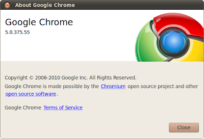 Google Chrome for Linux Stable version