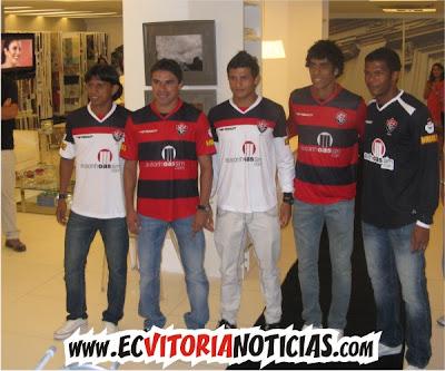 Jogadores do Vitória 2010