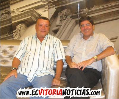 Beto Silveira e Carlos Falcão