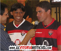 Ricardo, Índio e Vanderson - EC Vitória